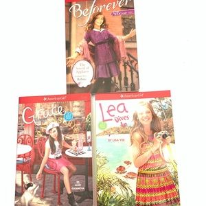 American Girl books New and never read